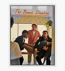 Pulp Fiction  'The Bonnie Situation' - John Travolta, Samuel L. Jackson, Quentin Tarantino Photographic Print