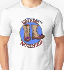 These Boots Walk to Netherfield Unisex T-Shirt