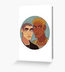 Ryan & Fey Greeting Card