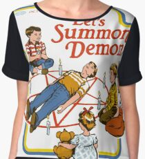 Games for Children, Lets Summon Demons Chiffon Top