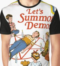Games for Children, Lets Summon Demons Graphic T-Shirt