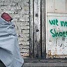 Belgrade - refugees by gluca