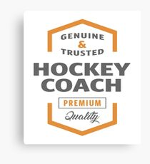 Hockey Coach Canvas Print