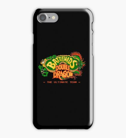 Battletoads  Double Dragon iPhone Case/Skin