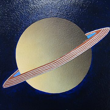 Saturn by paintpills