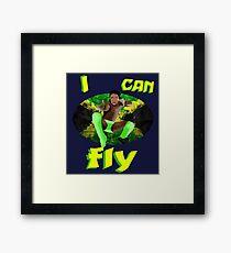 I can FLY | Kofi Kingston Framed Print