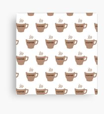Cup Of Coffee Mug Canvas Print