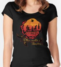 Other worlds Women's Fitted Scoop T-Shirt