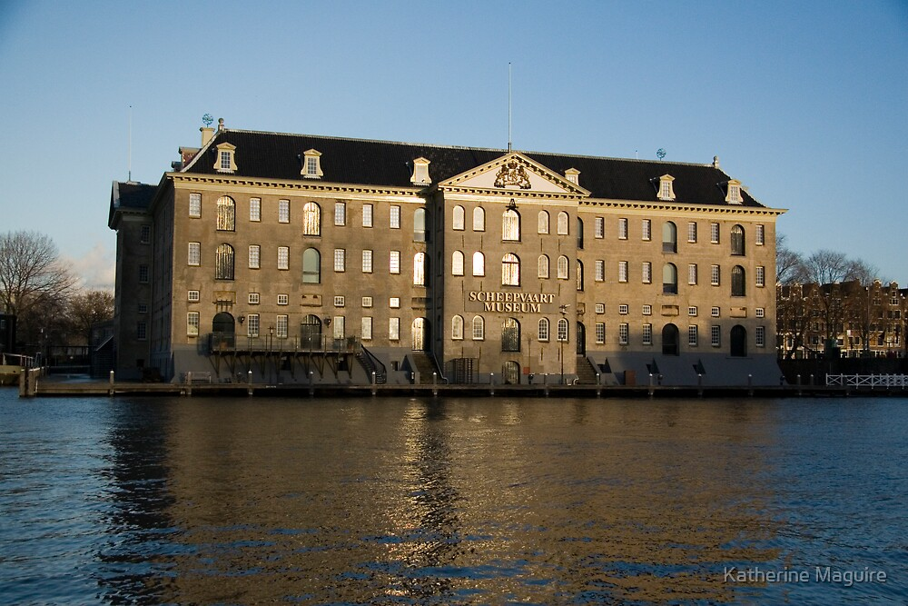 The Amsterdam ship museum by Katherine Maguire
