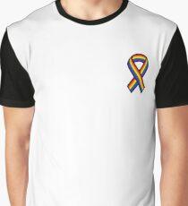 Gay Ribbon Graphic T-Shirt