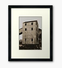 old east perth power station Framed Print