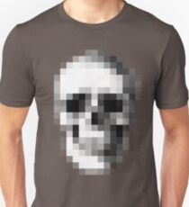 Pixelated Skull (shirt worn by Max) Unisex T-Shirt