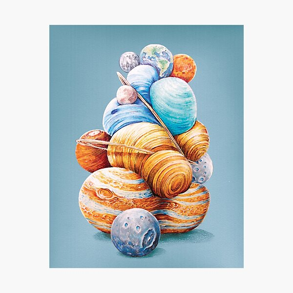 Planetary Pile-Up Photographic Print