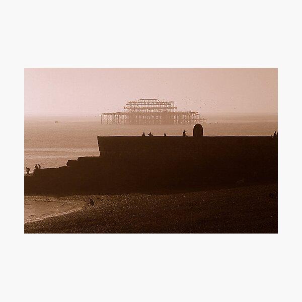 Towards West Pier Photographic Print