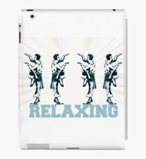 RELAXING iPad Case/Skin