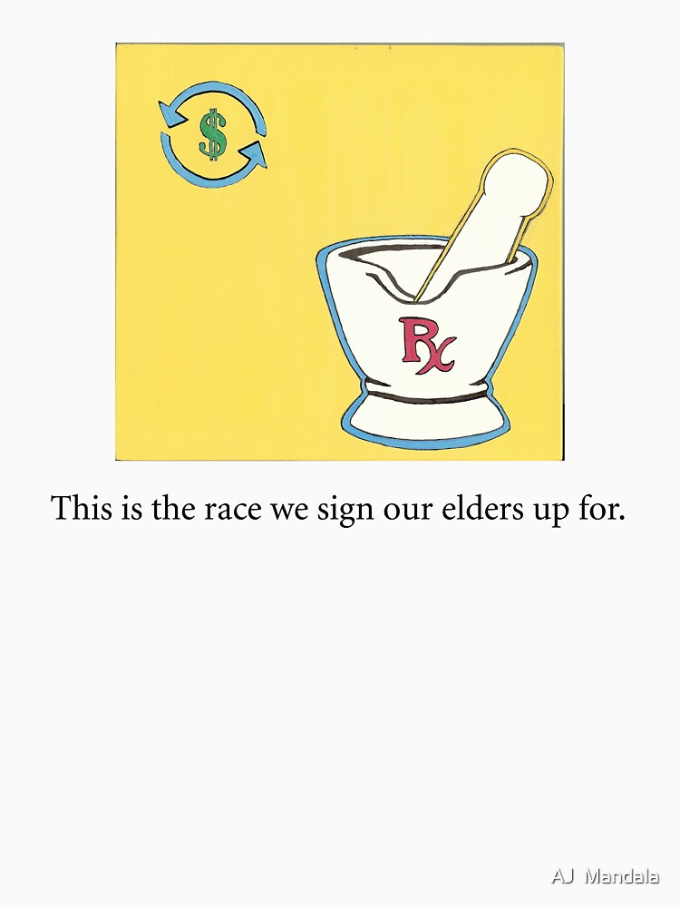 This is the race we sign our elders up for. by paintpills