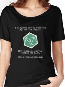 Natural 1 - Orc (White) Women's Relaxed Fit T-Shirt