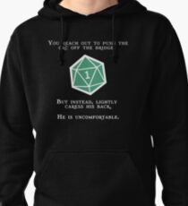 Natural 1 - Orc (White) Pullover Hoodie