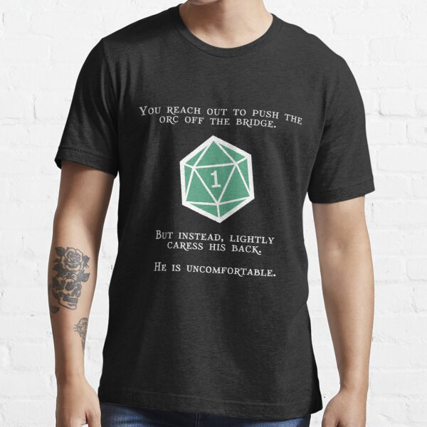 Natural 1 - Orc (White) Essential T-Shirt