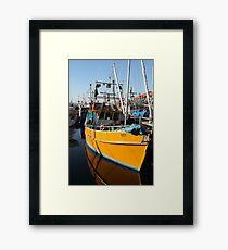Hobart Tasmania - Constitution Dock Framed Print