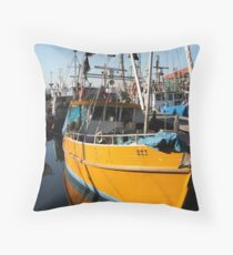 Hobart Tasmania - Constitution Dock Throw Pillow