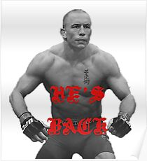 GSP IS BACK Poster