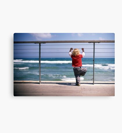 what is it, dad? Canvas Print