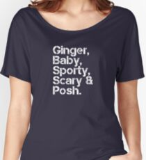 Spice Girls v2 [line-up] Women's Relaxed Fit T-Shirt