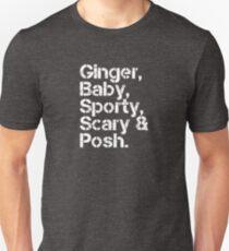 Spice Girls v2 [line-up] Unisex T-Shirt