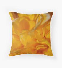 Yellow Rose Of Sharon Throw Pillow