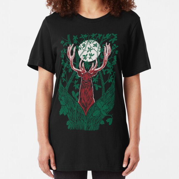 The Green Fuse Slim Fit T-Shirt