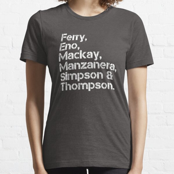 Roxy Music [line-up] Essential T-Shirt