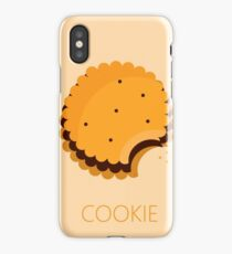 cookie illustration iPhone Case