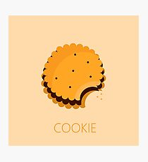 cookie illustration Photographic Print