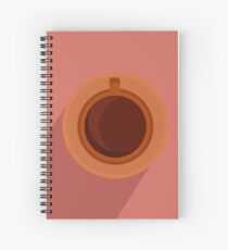 cofee design  Spiral Notebook