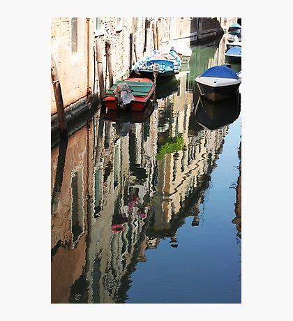Venetian reflections Photographic Print