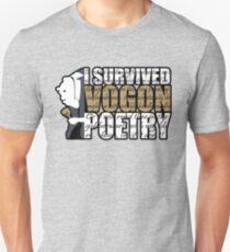 I survived Vogon poetry Unisex T-Shirt
