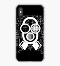 Gas Mask Guy iPhone Case
