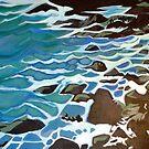 Cornish Sea 2 by Lori Elaine Campbell