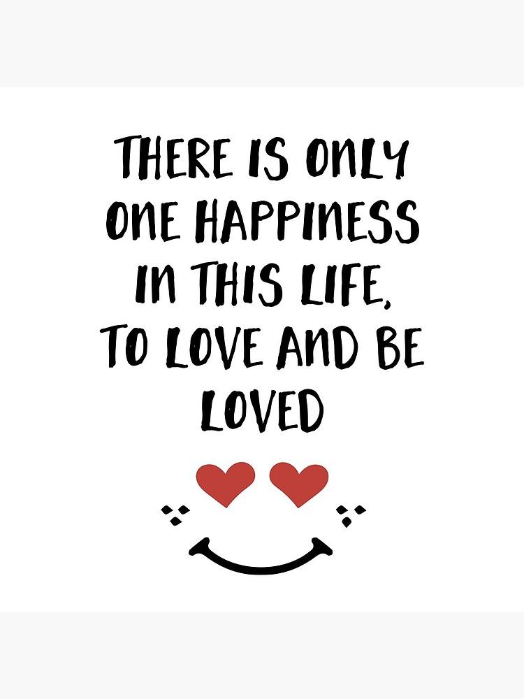 Lieben und geliebt werden - Glück Valentinstag Zitat von deificusArt