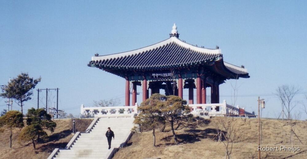 Korean Peace Bell by Robert Phelps
