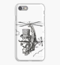 The Gentleman's Wacky Flying Machine iPhone Case/Skin