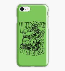Volkswagen Beetle Bus Vintage iPhone Case/Skin