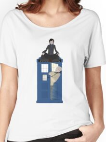 Sherlock - Doctor Who - Wholock Women's Relaxed Fit T-Shirt