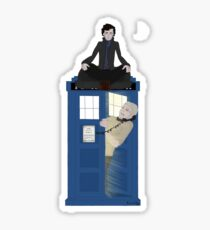 Sherlock - Doctor Who - Wholock Sticker