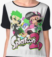 Splatoon 2 - Inklings Women's Chiffon Top