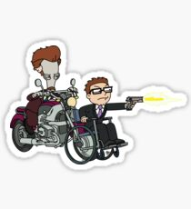 Wheel & Legman Sticker