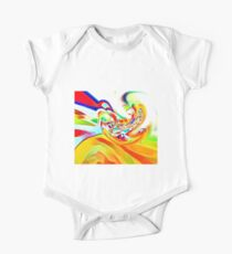 Watercolour abstract One Piece - Short Sleeve