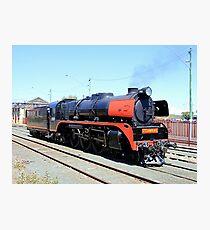 Steam train engine, Victoria, Australia 2 Photographic Print