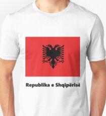 Republika e Shqipërisë Flag Unisex T-Shirt